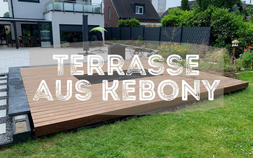 Terrasse aus Kebony