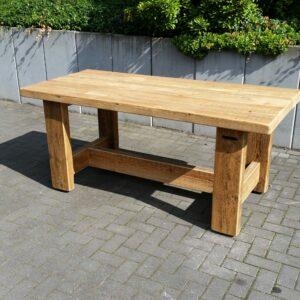 Bauholz Tisch 2,0m x 0,80m